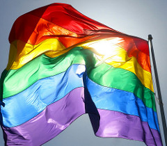 rainbow flag by scott richard
